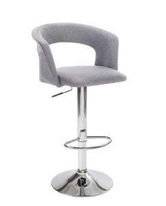 chaise-haute-Bar-cuisine-dossier-ergonomique-Lot-2-hauteur-reglable-tissu-rembourree-accoudoirs-kayelles-gris