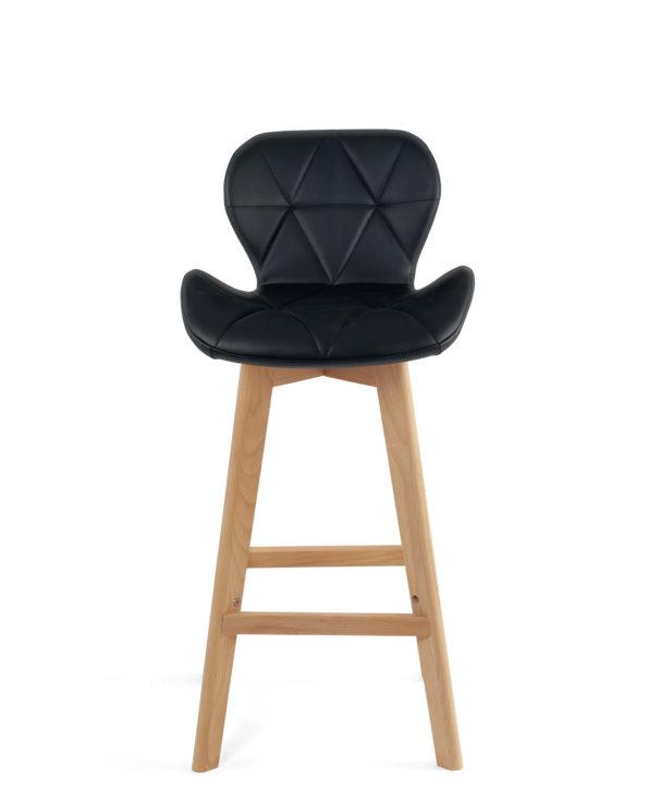 chaise-bar-design-scandinave-noir-fata-kayelles