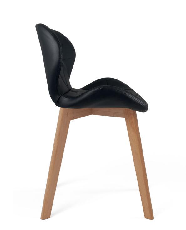 chaise-design-scandinaves-cuisine-kayelles-fati-noir-lot-2