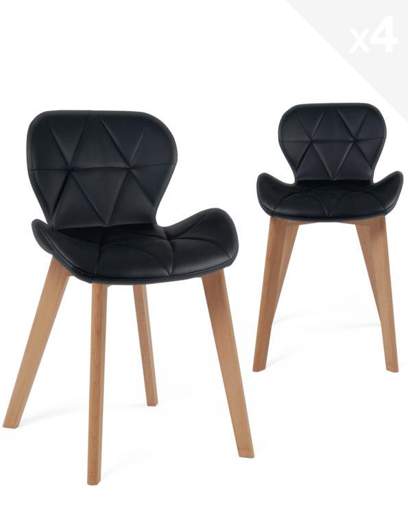 chaise-scandinave-design-lot-4-noir-fati