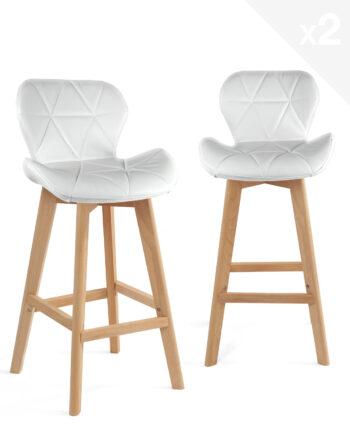 lot-2-chaises-hautes-scandinave-blanc-kayelles