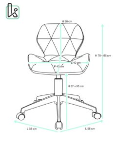chaise-bureau-design-lina-kayelles