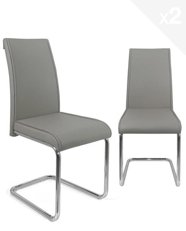 chaises-salon-salle-manger-confort-design-gris-clair-jada