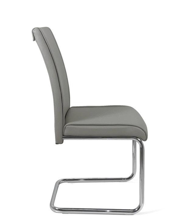 lot-2-chaises-salle-manger-confort-design-gris-clair-sejour