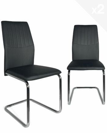 lot-2-chaises-salle-manger-pas-cher-design-kayelles-noir
