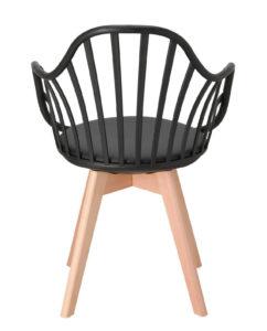 chaise-barreaux-accoudoirs-kayelles-noir-bold