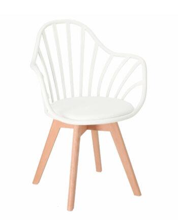 chaise-barreaux-accoudoirs-style-scandinave-blanc-bold