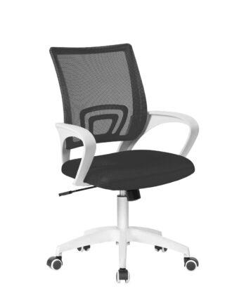chaise-bureau-ergonomique-fauteuil-bureau-blanc-noir-kayelles