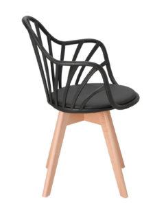 chaise-scandinave-barreaux-accoudoirs-style-noir-bold