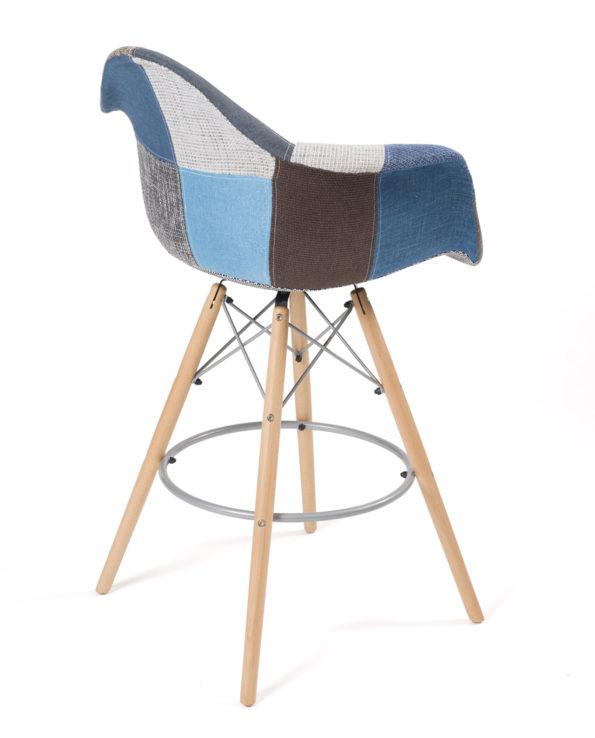 chaise-tabouret-bar-patchwork-scandinave-bleu-restaurant-cuisine-tiba